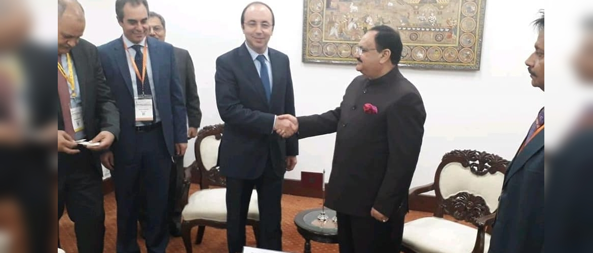 Visit of Hon'ble Minister of Health of Morocco to India