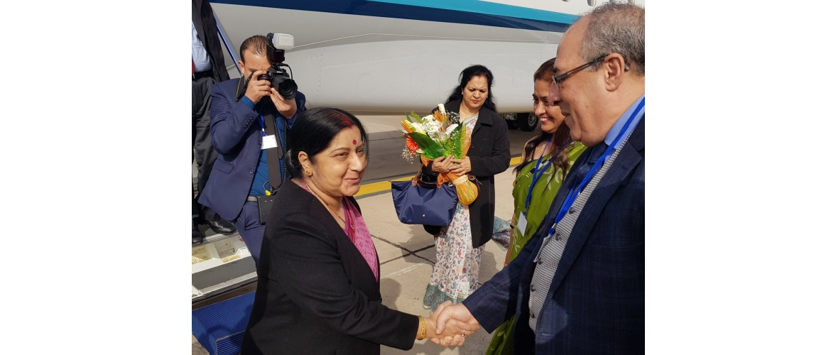 Visit of Hon'ble External Affairs Minister of India to Morocco from 17-18 February 2019